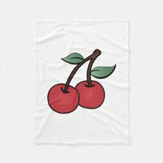Cobertor De Velo Cerejas