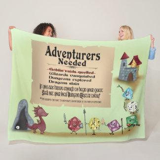 Cobertor De Velo Chamada à aventura