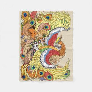 Cobertor De Velo chinês phoenix