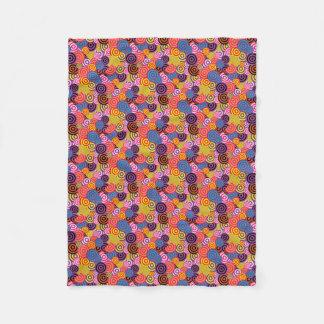 Cobertor De Velo Chique retro/do teste padrão 60s