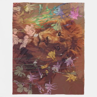 Cobertor De Velo Cobertura africana do velo do leão, grande