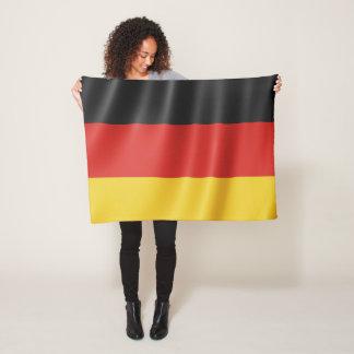 Cobertor De Velo Cobertura alemão do velo da bandeira