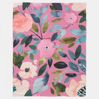 Cobertor De Velo Cobertura artística do jardim em Fuschia