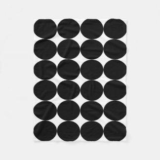 Cobertor De Velo Cobertura: Base branca, círculos pretos