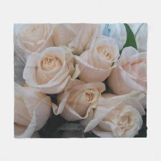 Cobertor De Velo Cobertura bonito do velo do impressão dos rosas