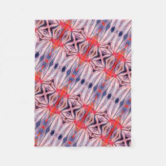 Cobertor De Velo cobertura brilhante bonita do velo do teste padrão