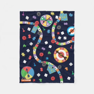 Cobertor De Velo Cobertura brincalhão do teste padrão do jogo de