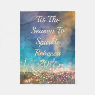 Cobertor De Velo Cobertura conhecida colorida do ano de Borealis da