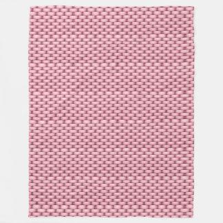 Cobertor De Velo Cobertura cor-de-rosa da cesta