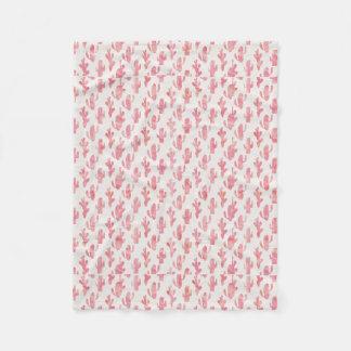 Cobertor De Velo Cobertura cor-de-rosa do cacto