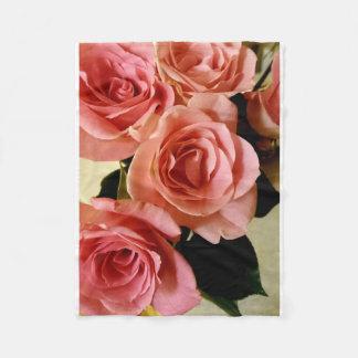 Cobertor De Velo Cobertura cor-de-rosa do velo