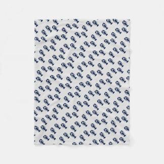 Cobertor De Velo Cobertura crustácea litoral do impressão colorido
