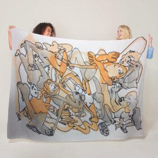 Cobertor De Velo Cobertura da arte de Ben