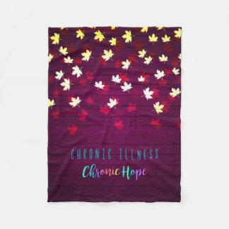 Cobertor De Velo Cobertura da esperança do outono
