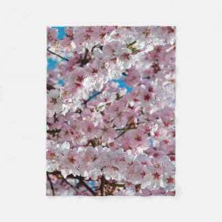 Cobertor De Velo Cobertura da flor de cerejeira