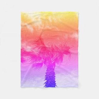 Cobertor De Velo Cobertura da palmeira da cor