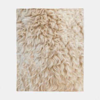 Cobertor De Velo Cobertura da pele dos carneiros do falso