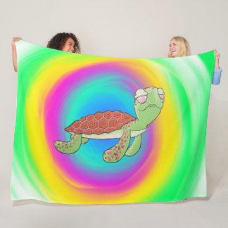 Cobertor De Velo Cobertura da tartaruga de mar grande
