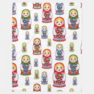 Cobertor De Velo Cobertura das bonecas do russo