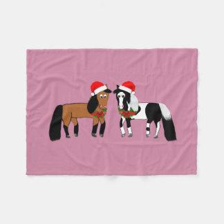 Cobertor De Velo Cobertura de cavalo do Natal
