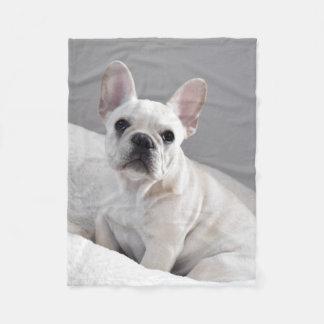 Cobertor De Velo Cobertura de creme de Frenchie