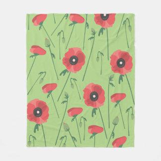 Cobertor De Velo Cobertura de florescência do campo da papoila
