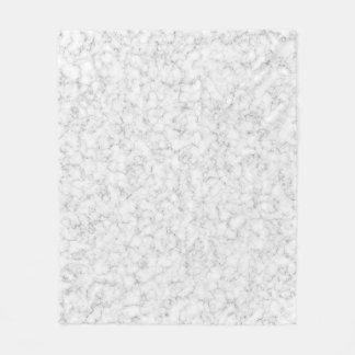 Cobertor De Velo Cobertura de mármore branca do velo da textura