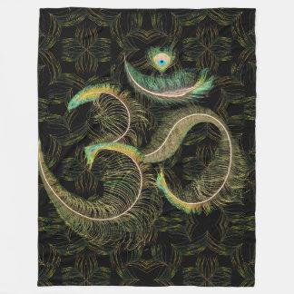Cobertor De Velo Cobertura de OM do pavão grande