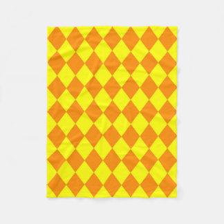Cobertor De Velo Cobertura: Diamantes alaranjados & amarelos
