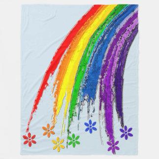Cobertor De Velo Cobertura do arco-íris