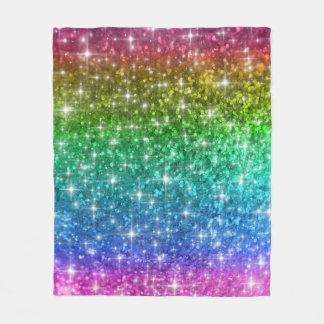 Cobertor De Velo Cobertura do brilho do arco-íris