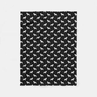 Cobertor De Velo Cobertura do buldogue francês - teste padrão do