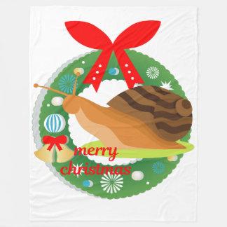 Cobertor De Velo cobertura do caracol do Feliz Natal