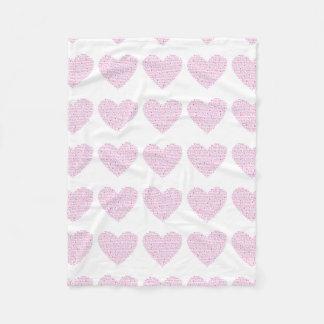 Cobertor De Velo Cobertura do coração de IMHM (pequena)