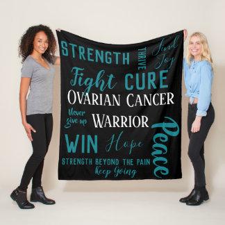 Cobertor De Velo Cobertura do guerreiro do câncer de ovário