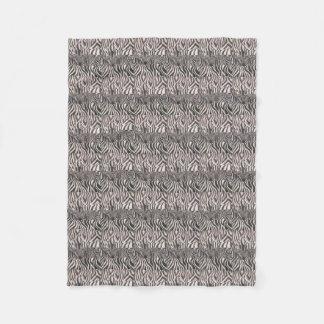 Cobertor De Velo Cobertura do impressão da zebra