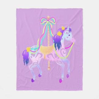 Cobertor De Velo Cobertura do meio do cavalo do carrossel