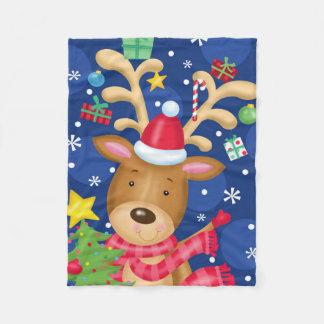 Cobertor De Velo Cobertura do Natal da rena