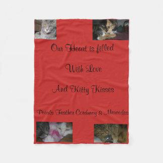 Cobertor De Velo Cobertura do Snuggle do gatinho