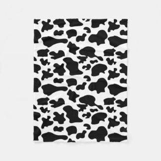 Cobertor De Velo Cobertura do teste padrão da vaca