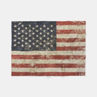 Cobertor De Velo Cobertura do velo com a bandeira dos EUA