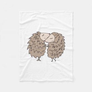 Cobertor De Velo Cobertura do velo com aperto dos ouriços