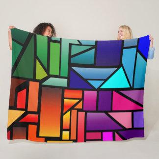 """Cobertor De Velo Cobertura do velo com design do """"vitral"""""""
