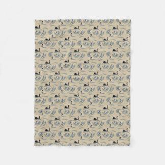 Cobertor De Velo Cobertura do velo da agitação da cisne (ouro)