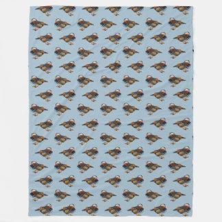 Cobertor De Velo Cobertura do velo da agitação do mandarino (luz -