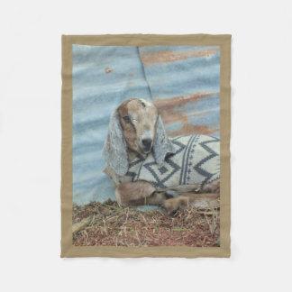 Cobertor De Velo Cobertura do velo da cabra do bebê