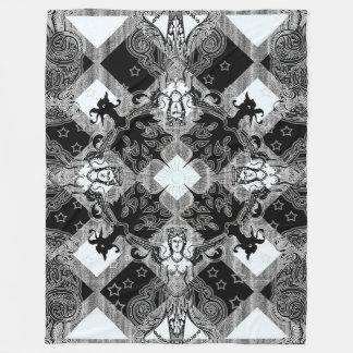 Cobertor De Velo Cobertura do velo da casa do cavaleiro, grande