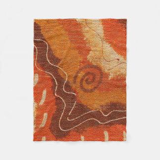 Cobertor De Velo Cobertura do velo da coleção #1 do deserto de Sun