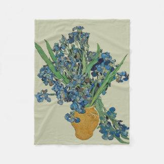 Cobertor De Velo Cobertura do velo da íris de Van Gogh