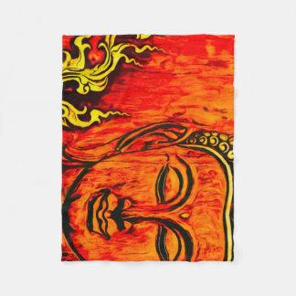 Cobertor De Velo Cobertura do velo da pureza de Buddha